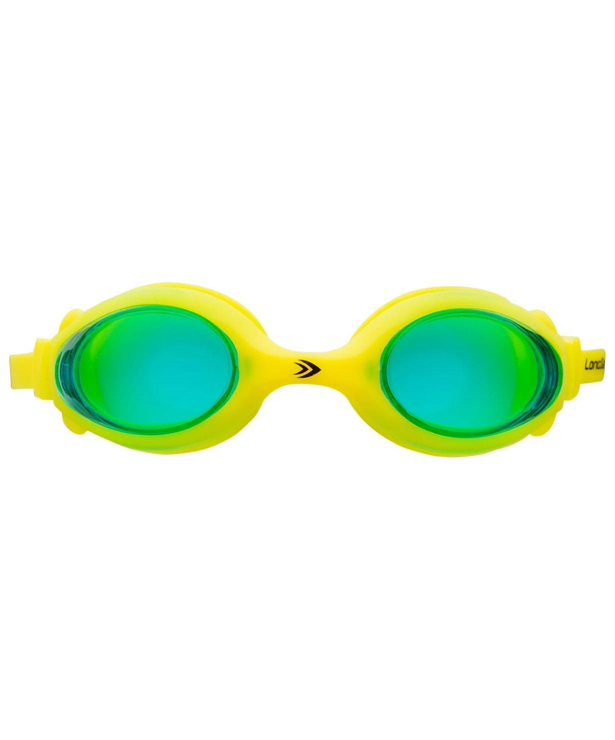 LONGSAIL Kids Marine Очки для плавания  L041020: зеленый/желтый - 2