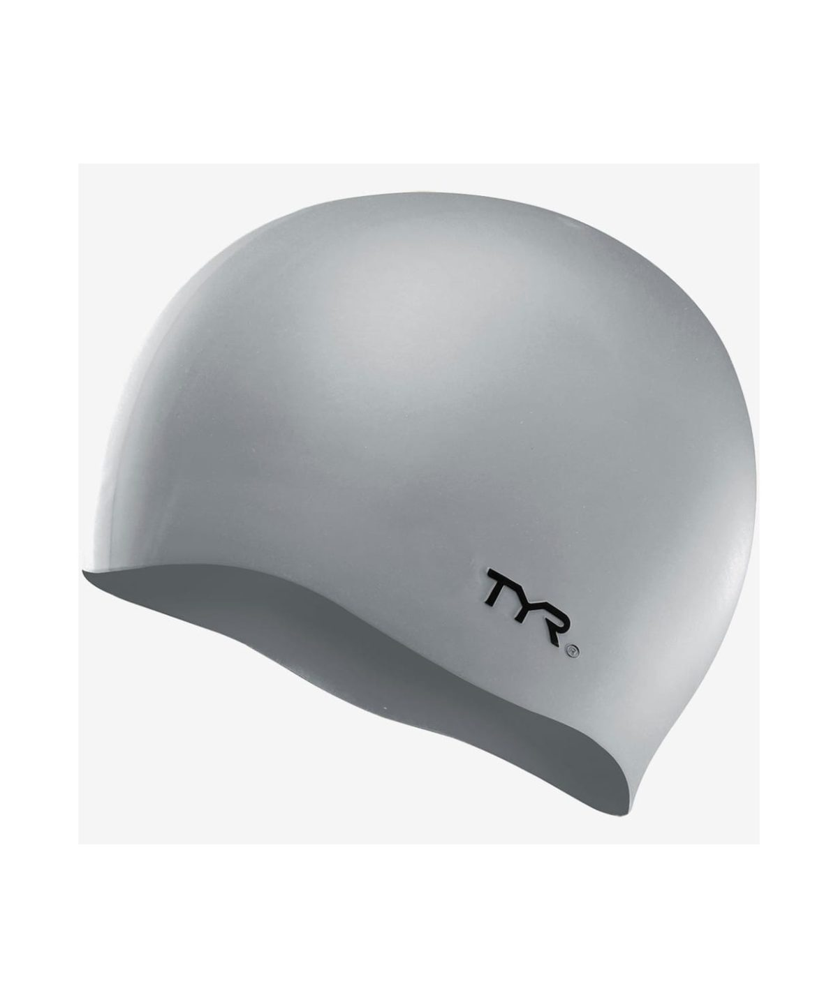 TYR Wrinkle Free Silicone Cap Шапочка для плавания силикон  LCS: серебристый - 1