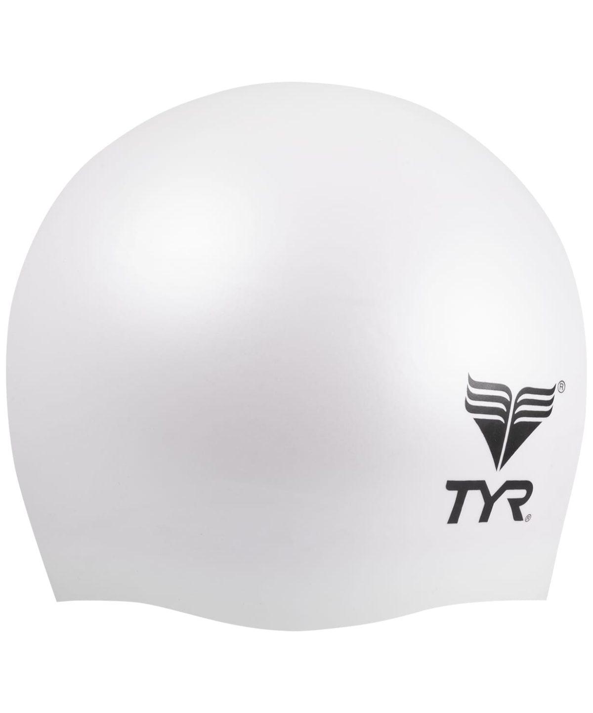 TYR Wrinkle Free Junior Silicone Cap Шапочка для плавания силикон  LCSJR - 1