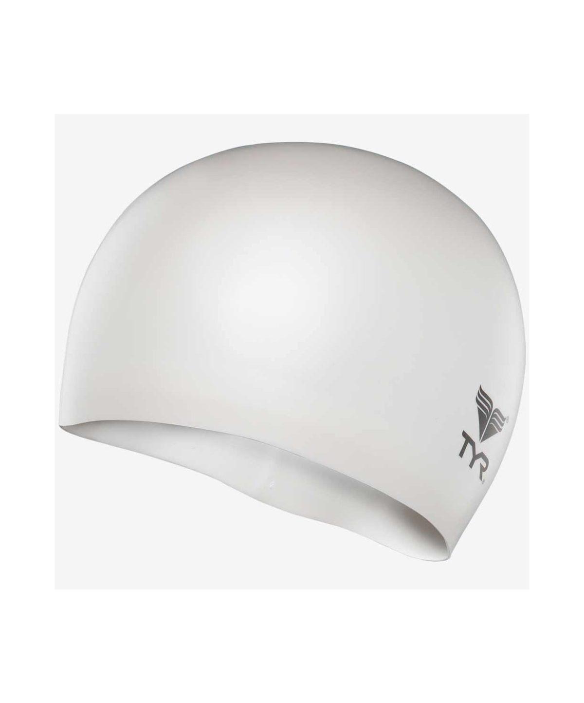 TYR Wrinkle Free Junior Silicone Cap Шапочка для плавания силикон  LCSJR - 2
