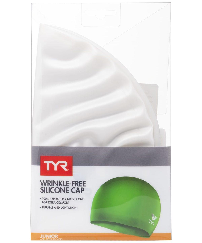 TYR Wrinkle Free Junior Silicone Cap Шапочка для плавания силикон  LCSJR - 3