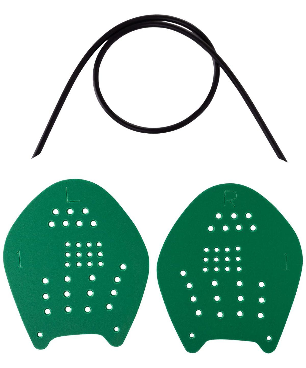 LONGSAIL Target Лопатки  для плавания  1562: зелёный - 1