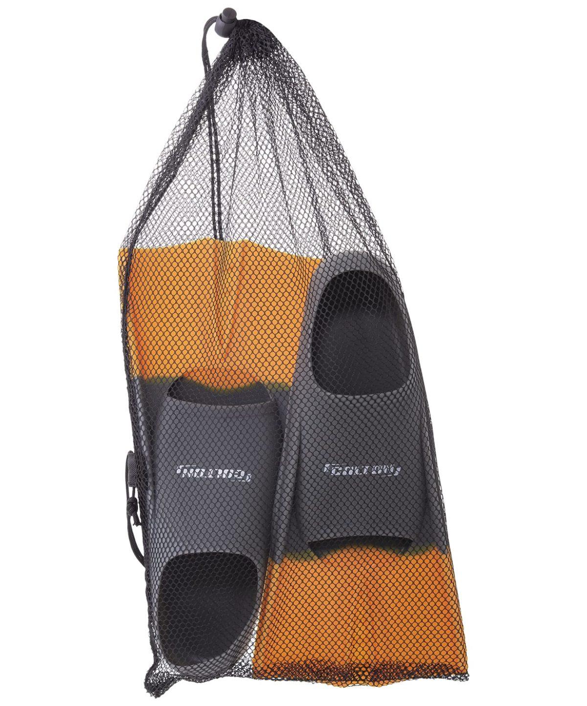 COLTON Ласты тренировочные р.36-38  CF-01: серый/оранжевый - 4