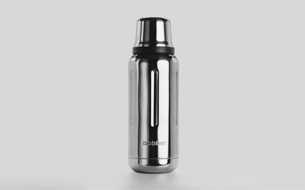 БОББЕР Термос для напитков, вакумный  1000 мл  Flask-1000: зеркальный - 1