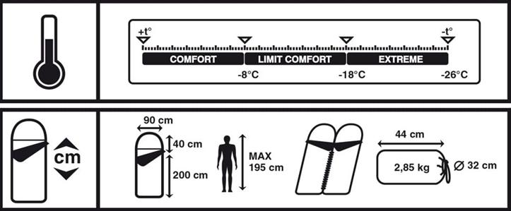 TREK PLANET Warmer Comfort Спальник  70389-L - 2