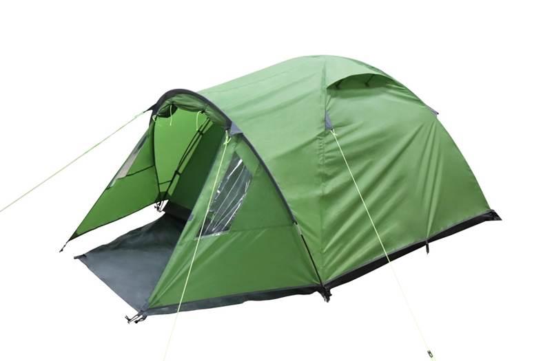 TREK PLANET Bergamo 3 Палатка 200x(220+90)x135  70205 - 1