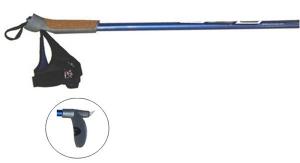 STC Палки лыжные, алюминий, с капканом, пробковой ручкой  0-115 - 1