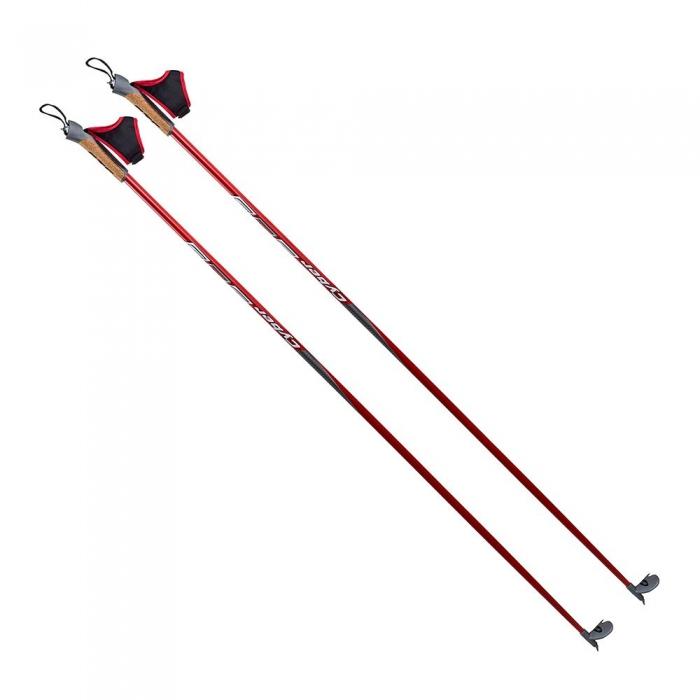 STC Cyber Палки лыжные гоночные уголь 60%/ стекло40%  0-116 - 1