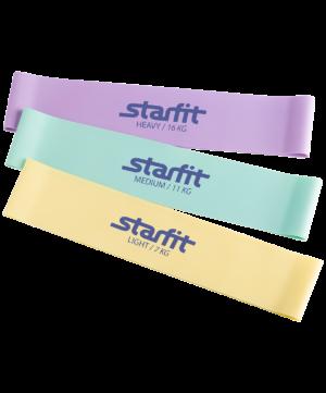 STARFIT Комплект мини-эспандеров, пастельный ES-203 - 9