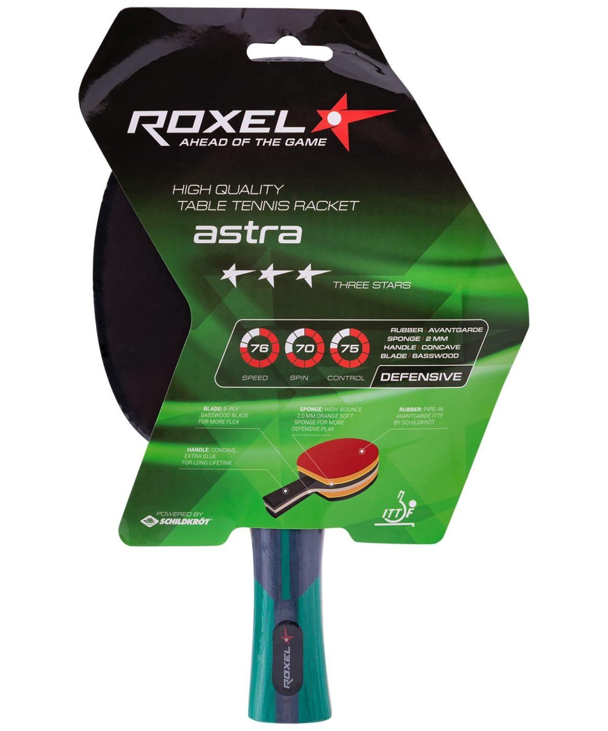 ROXEL 3* Astra Ракетка для настольного тенниса, коническая  15357 - 1