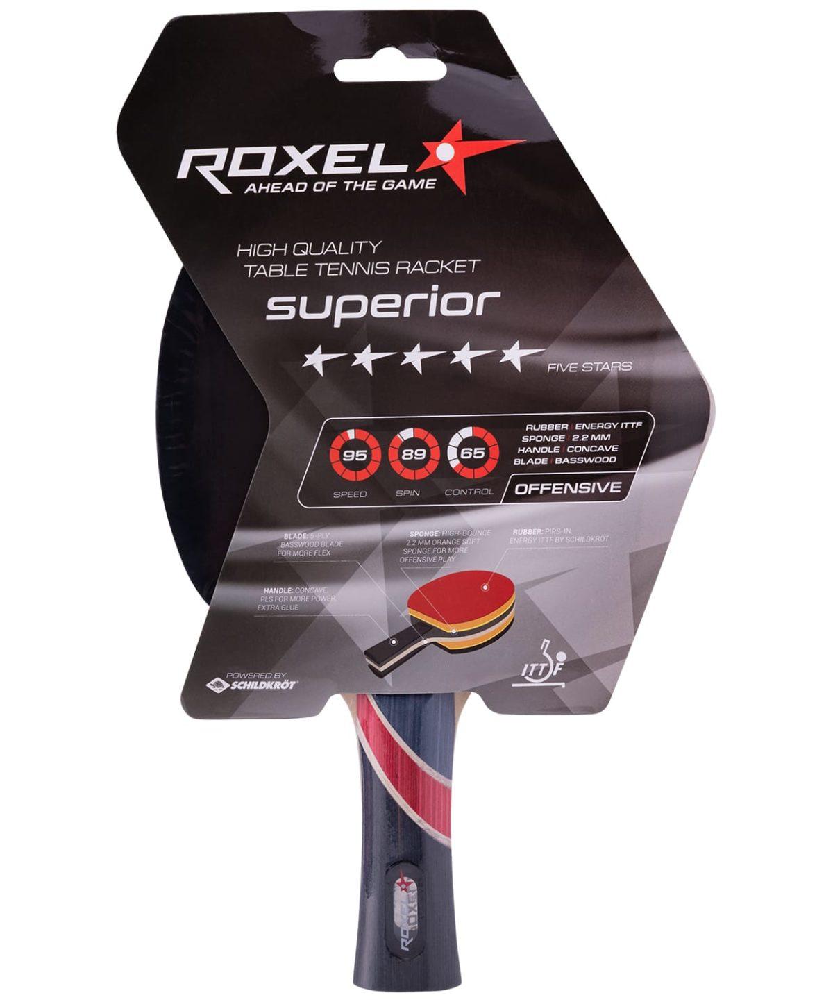 ROXEL 5* Superior Ракетка для настольного тенниса, коническая  15359 - 1