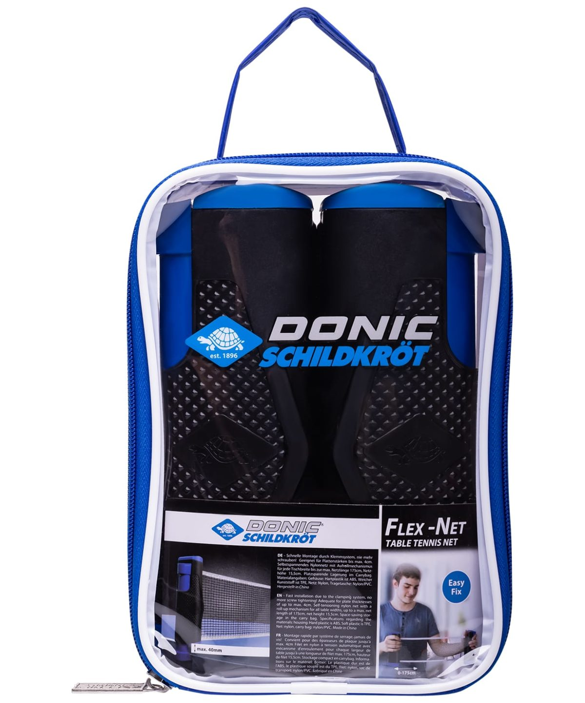 DONIC-Schildkröt Flex-Net Сетка для настольного тенниса, раздвижная  15673 - 1