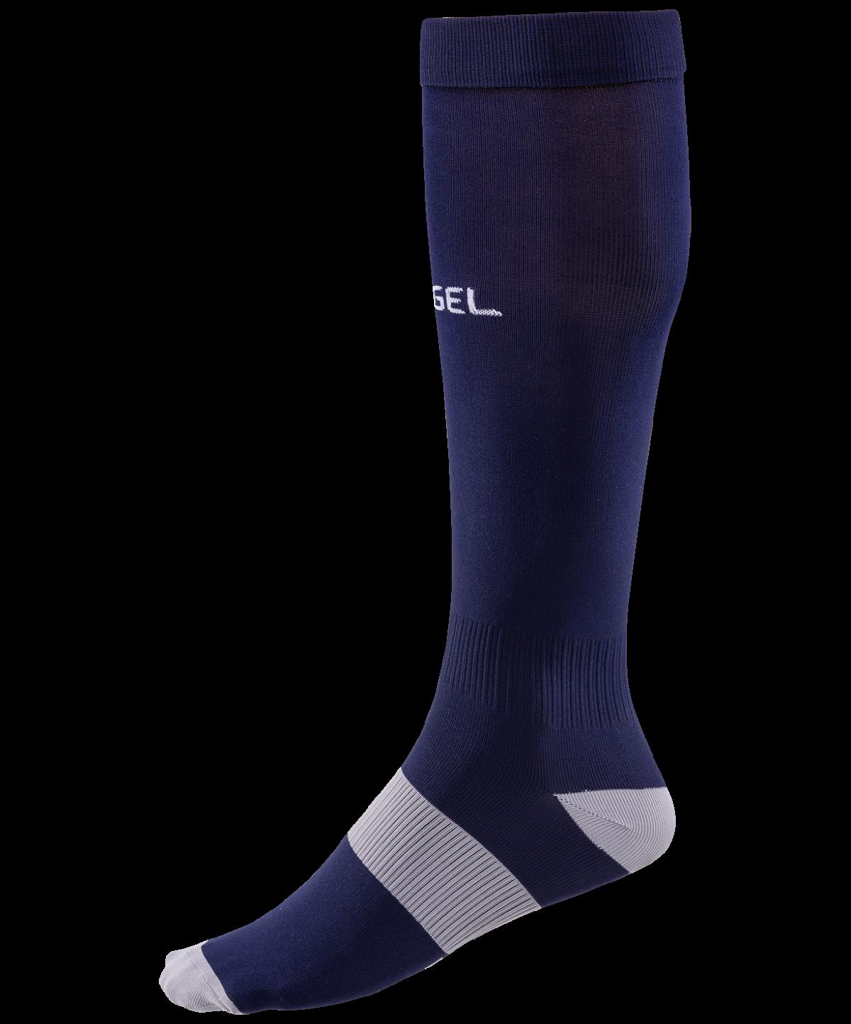 JOGEL Гетры футбольные Essentiаl,  темно-синий/серый  JA-006 - 1