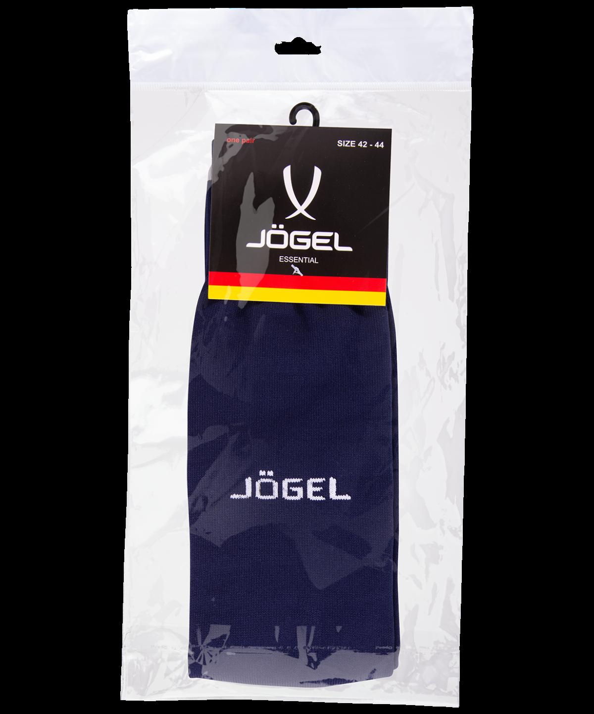 JOGEL Гетры футбольные Essentiаl,  темно-синий/серый  JA-006 - 4
