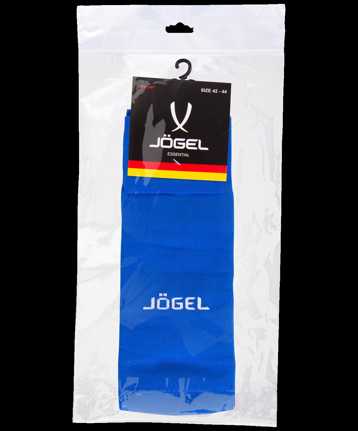 JOGEL Гетры футбольные Essentiаl, синий/серый  JA-006 - 4