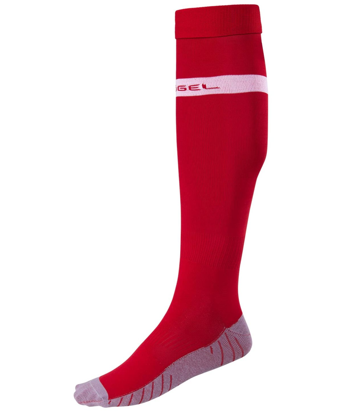 JOGEL Гетры футбольные, красный/белый  JA-003 - 1