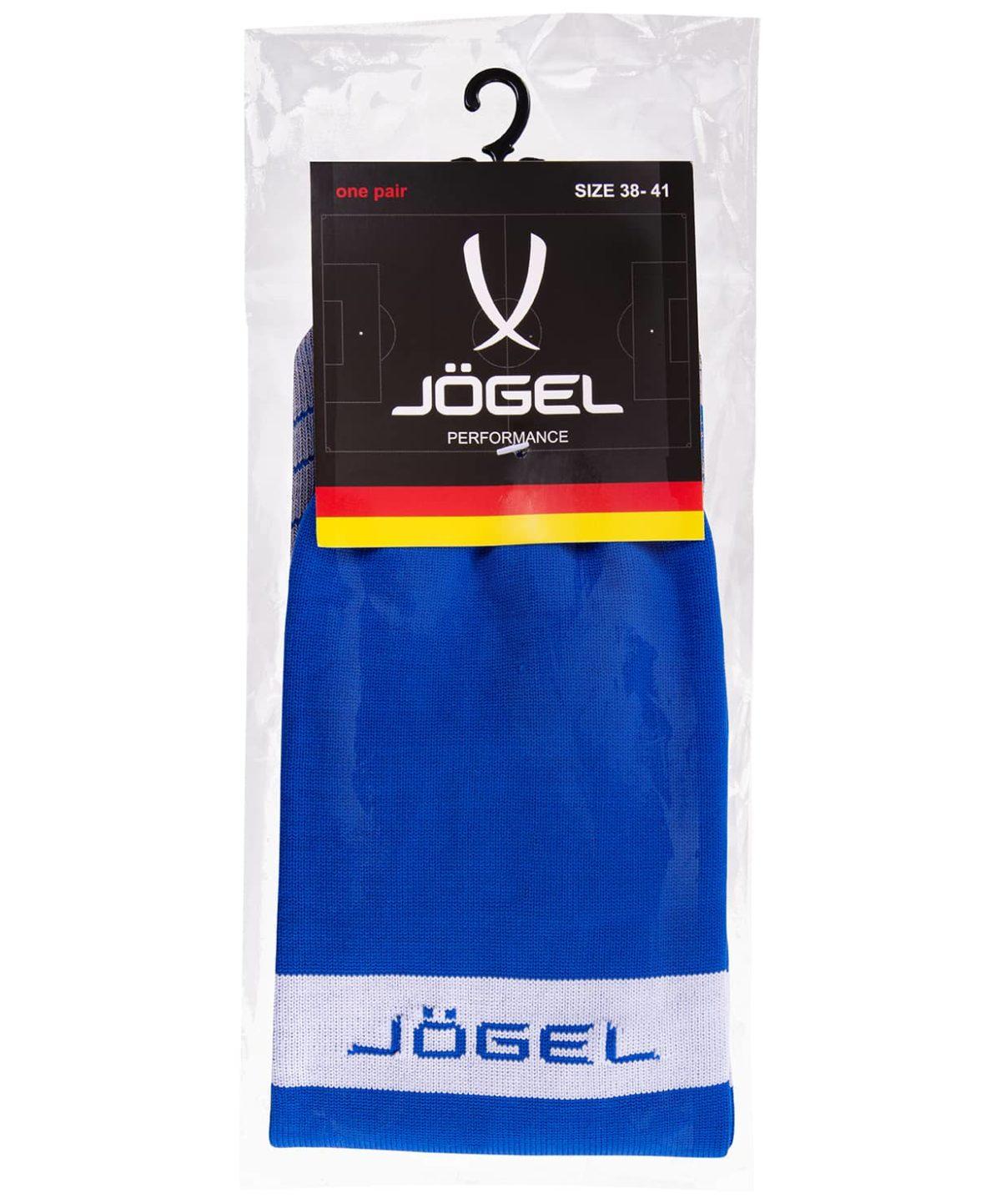 JOGEL Гетры футбольные, синий/белый  JA-003 - 3