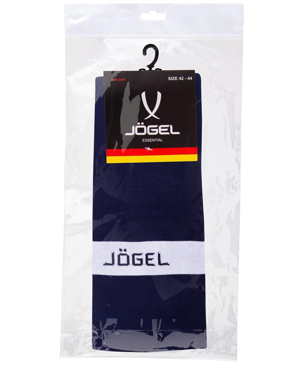 JOGEL Гетры футбольные, темно-синий/белый  JA-003 - 3