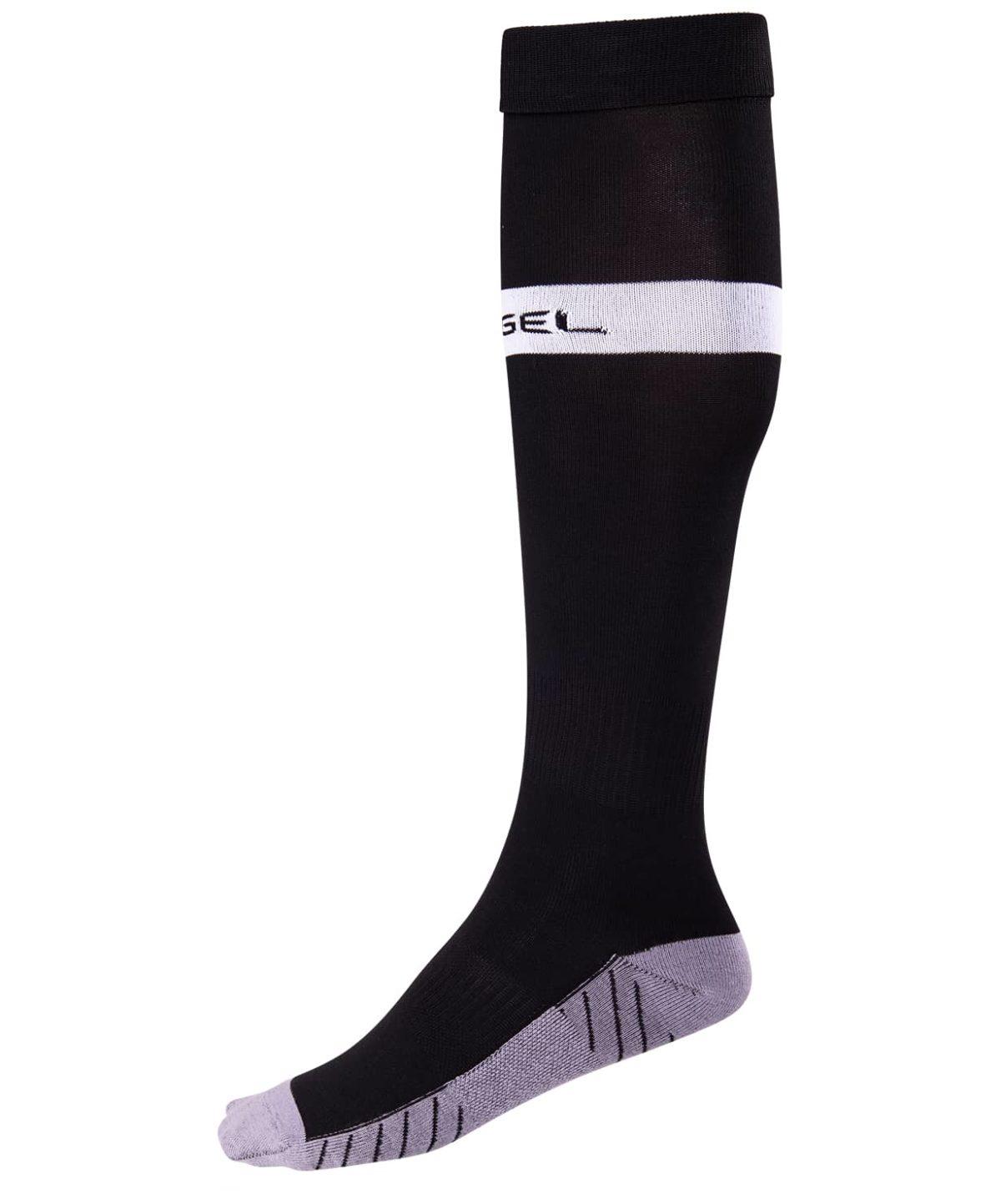 JOGEL Гетры футбольные, черный/белый  JA-003 - 1