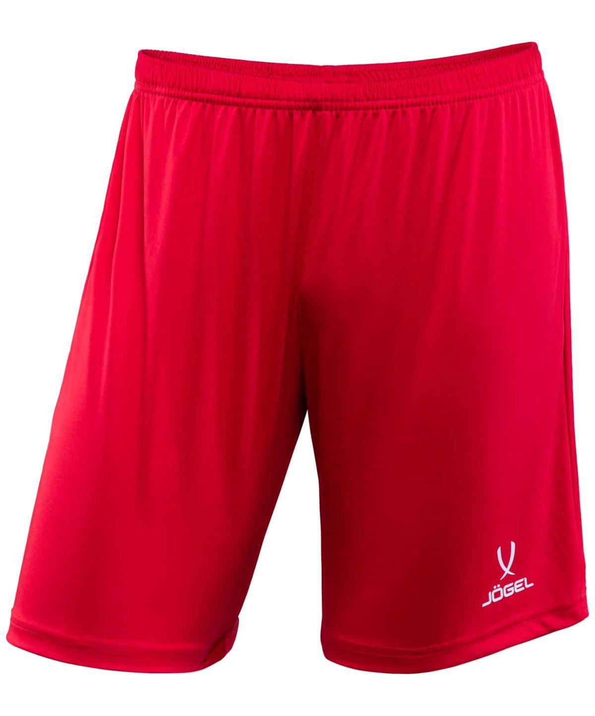 JOGEL CAMP Шорты футбольные, красный/белый  JFT-1120-021 - 1