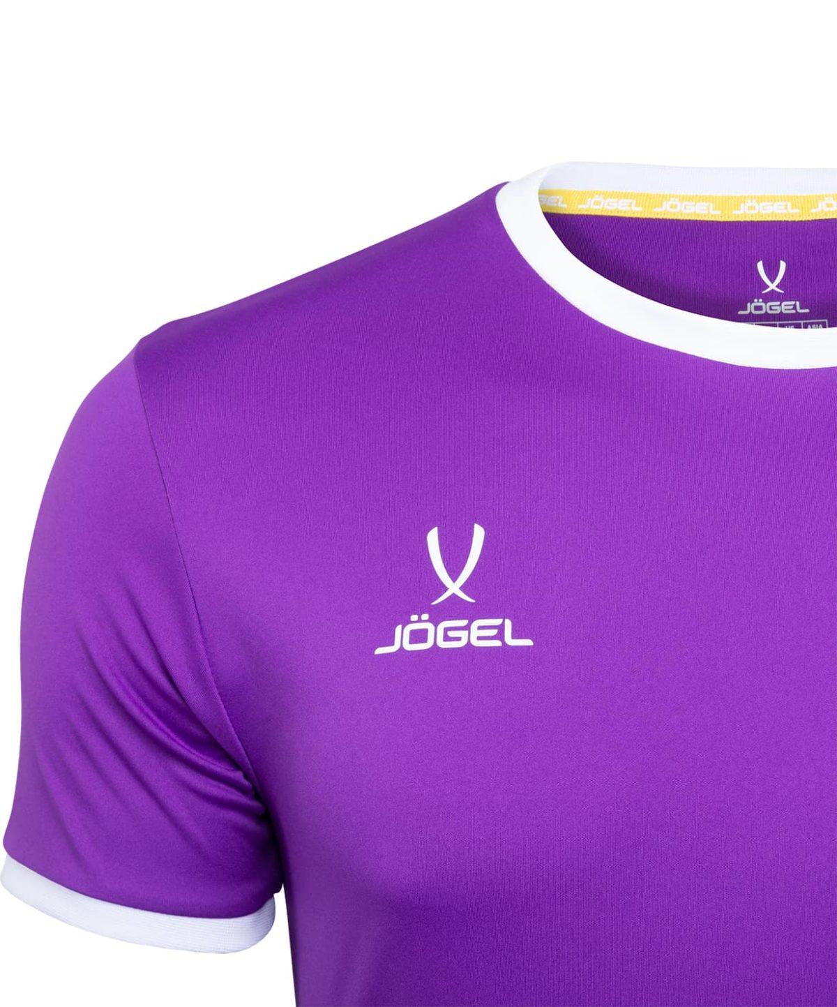 JOGEL CAMP Origin Футболка футбольная детская, фиолетовый/белый  JFT-1020-V1-K - 3