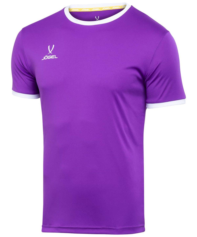 JOGEL CAMP Origin Футболка футбольная, фиолетовый/белый  JFT-1020-V1 - 1