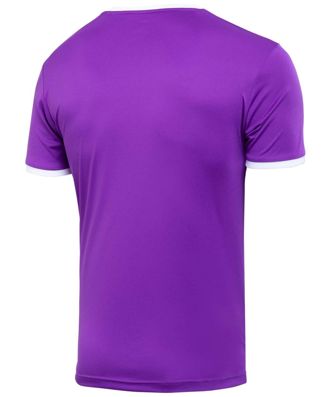 JOGEL CAMP Origin Футболка футбольная, фиолетовый/белый  JFT-1020-V1 - 2