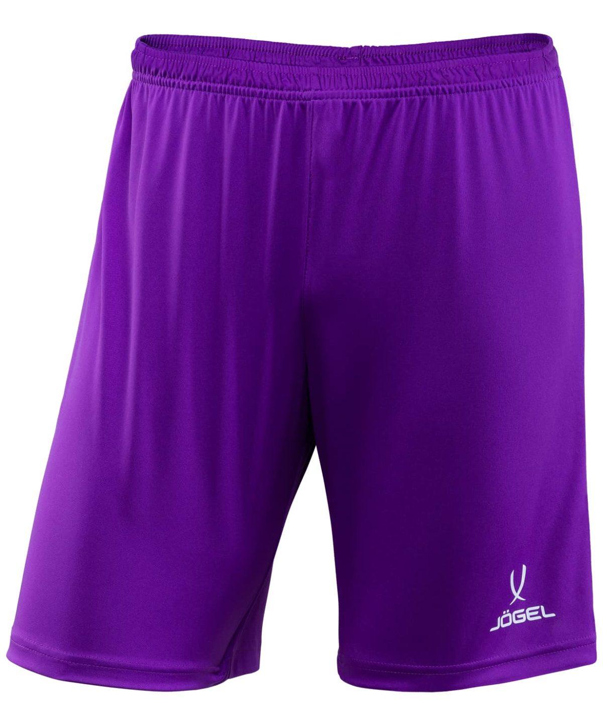 JOGEL CAMP Шорты футбольные детские, фиолетовый/белый  JFS-1120-V1-K - 1