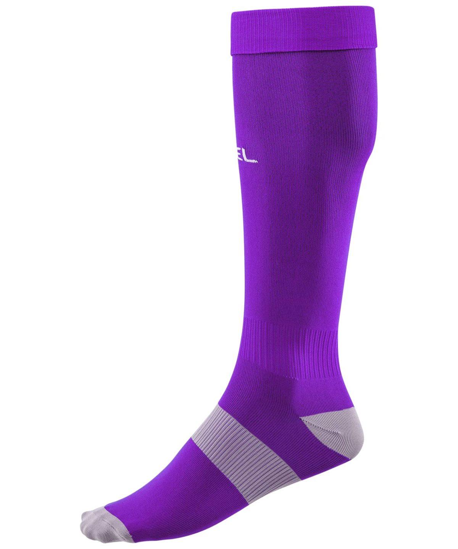 JOGEL Гетры футбольные Essentiаl, фиолетовый/серый  JA-006 - 1