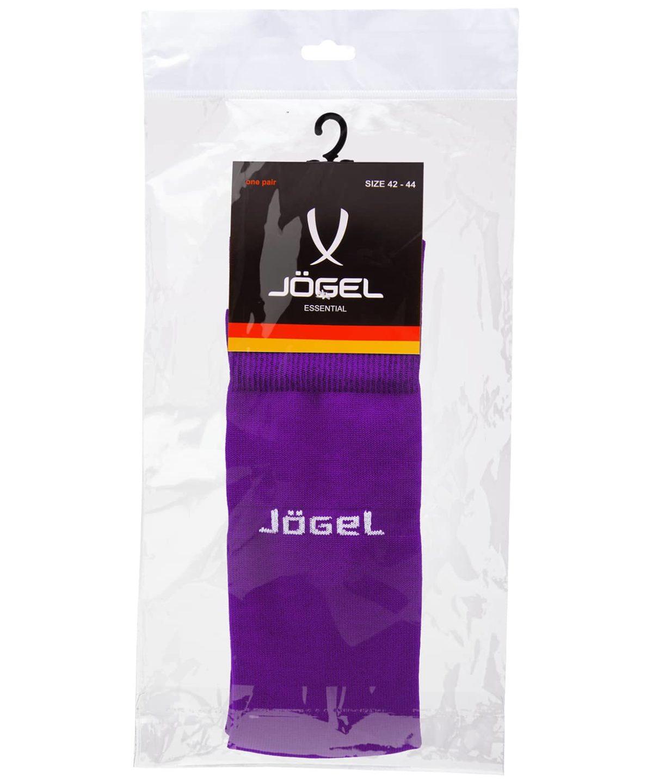 JOGEL Гетры футбольные Essentiаl, фиолетовый/серый  JA-006 - 4