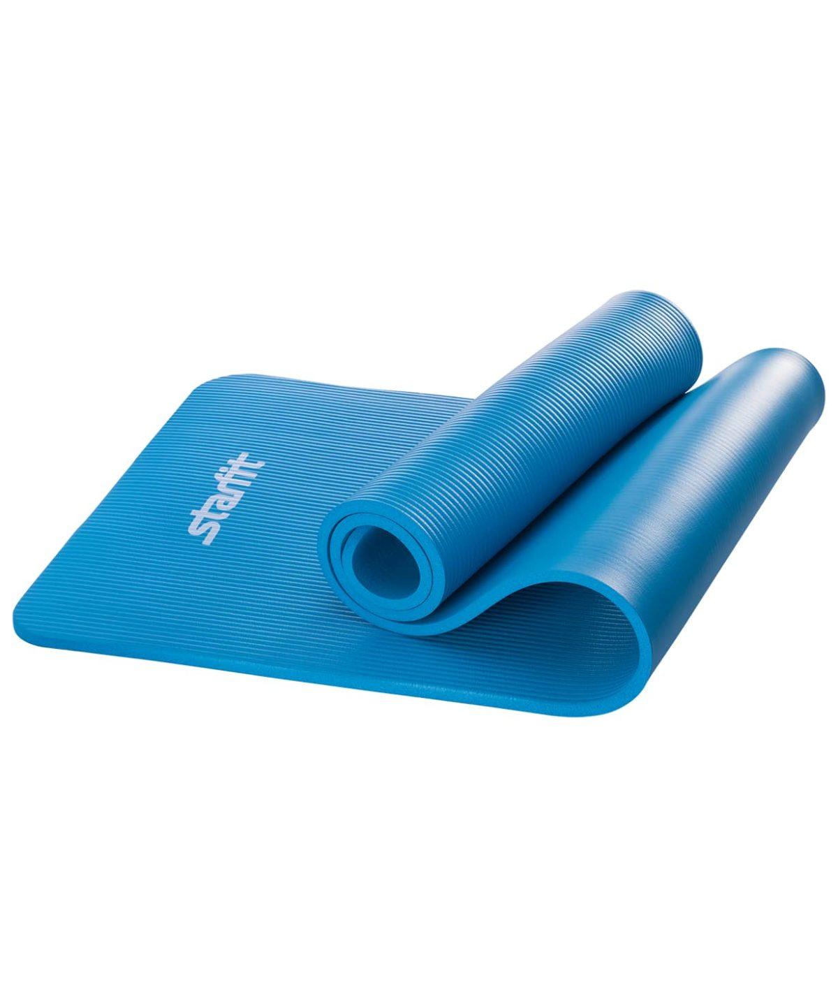 STARFIT Коврик для йоги FM-301 183x58x1,2 см: синий - 1