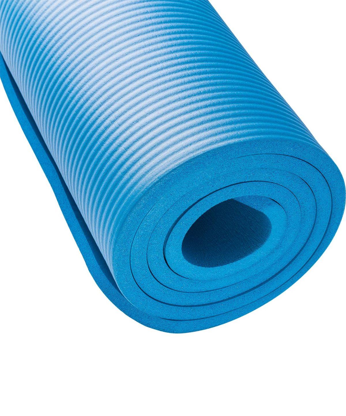 STARFIT Коврик для йоги FM-301 183x58x1,2 см: синий - 2