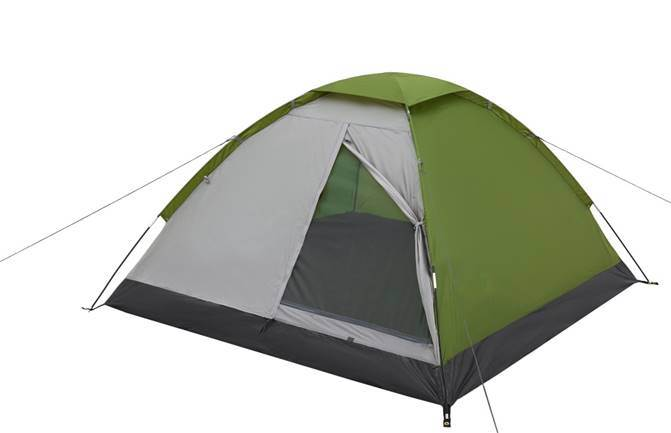 JUNGLE CAMP Lite Dome 2 Палатка  150x205x105  70811 - 1