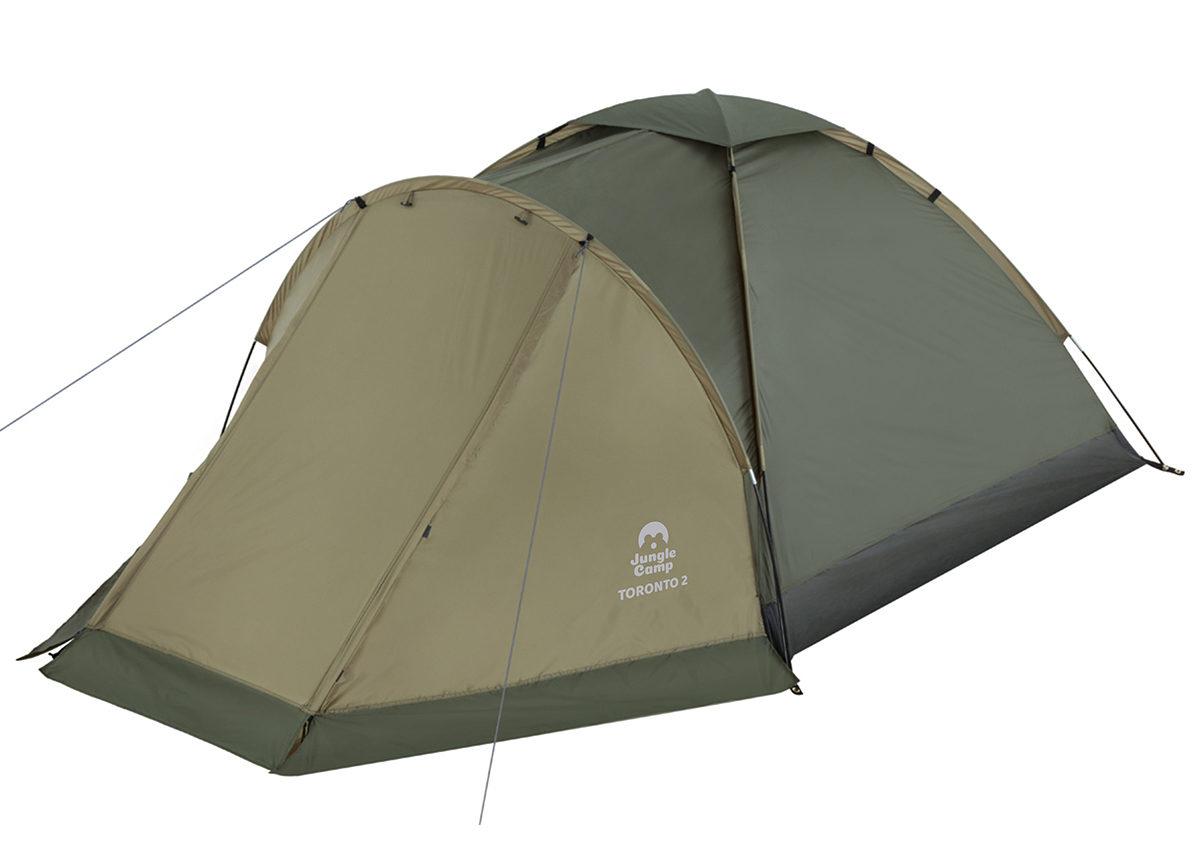 JUNGLE CAMP Toronto 2 Палатка  150x(210+90)x110  70814 - 2