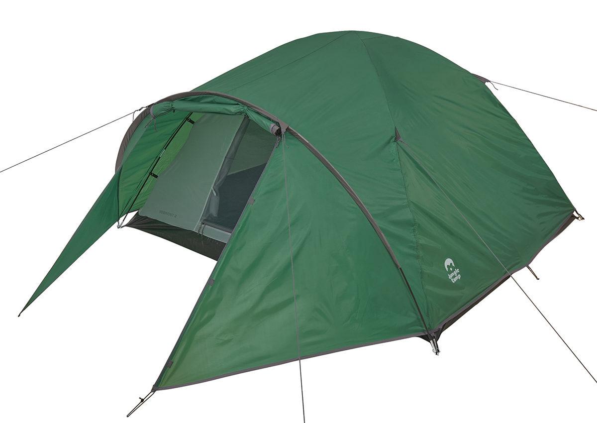 JUNGLE CAMP Vermont 2 Палатка  150x(210+80)x110  70824 - 1