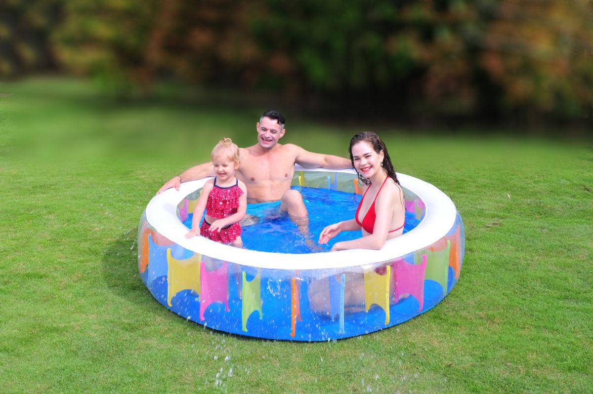 JILONG Giant rainbow pool Бассейн - 1