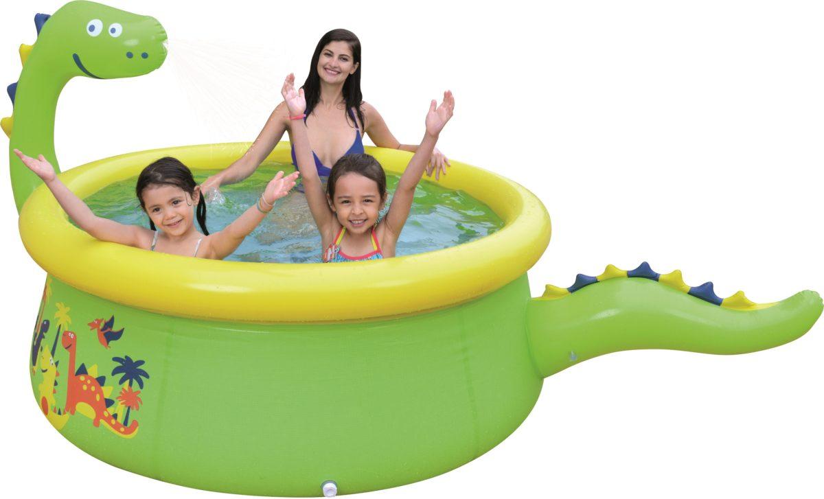 JILONG 3D Dinosaur pool Бассейн  17786 - 1