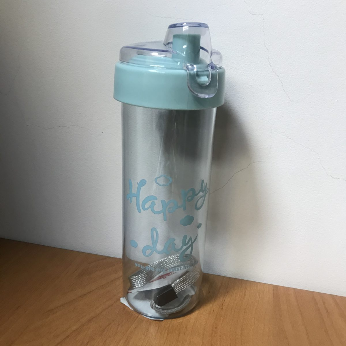 HIGH FASHION CUP Бутылка для воды 400мл 4049: голубой - 1
