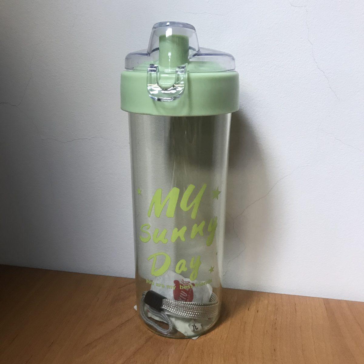 HIGH FASHION CUP Бутылка для воды 400мл 4049: зелёный - 1