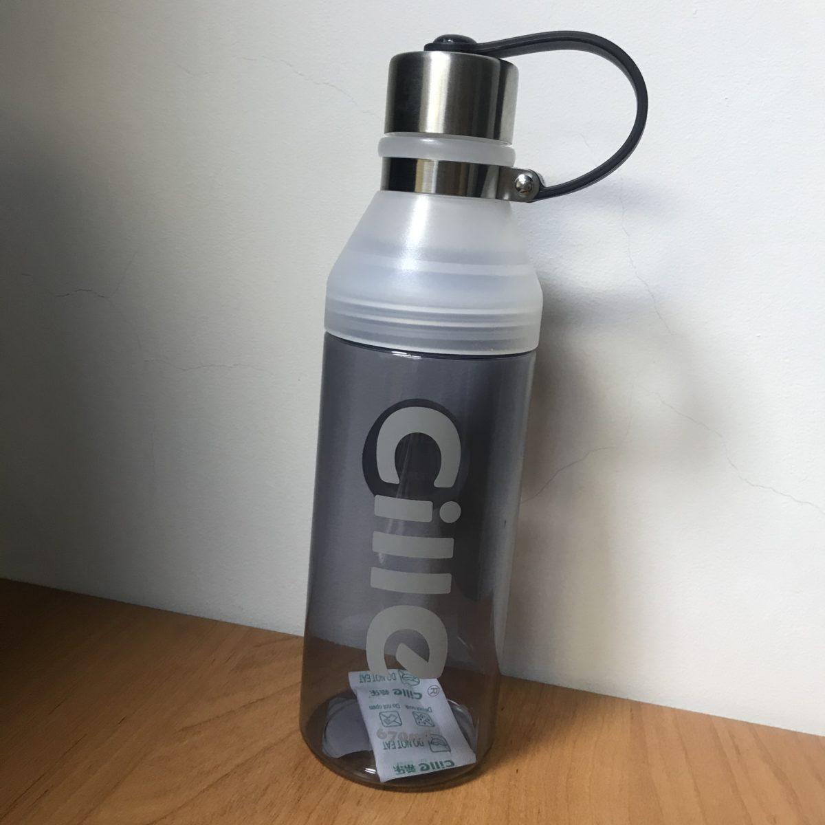CILLE Бутылочка  для воды 670 мл 1707: серый - 1