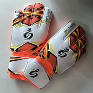 ZHENGDOONG перчатки вратарские  002: оранжевый - 4