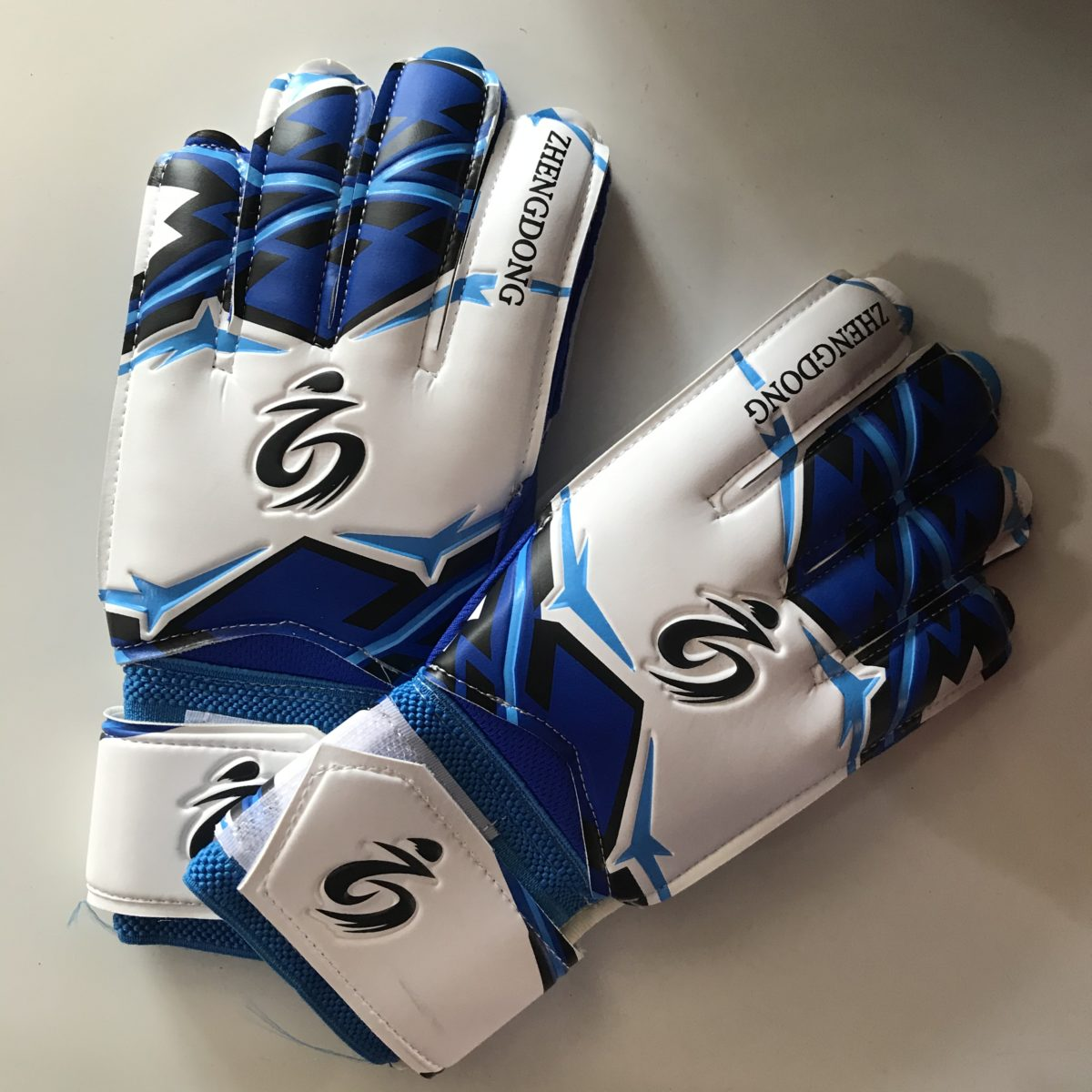 ZHENGDOONG перчатки вратарские  002: синий - 1