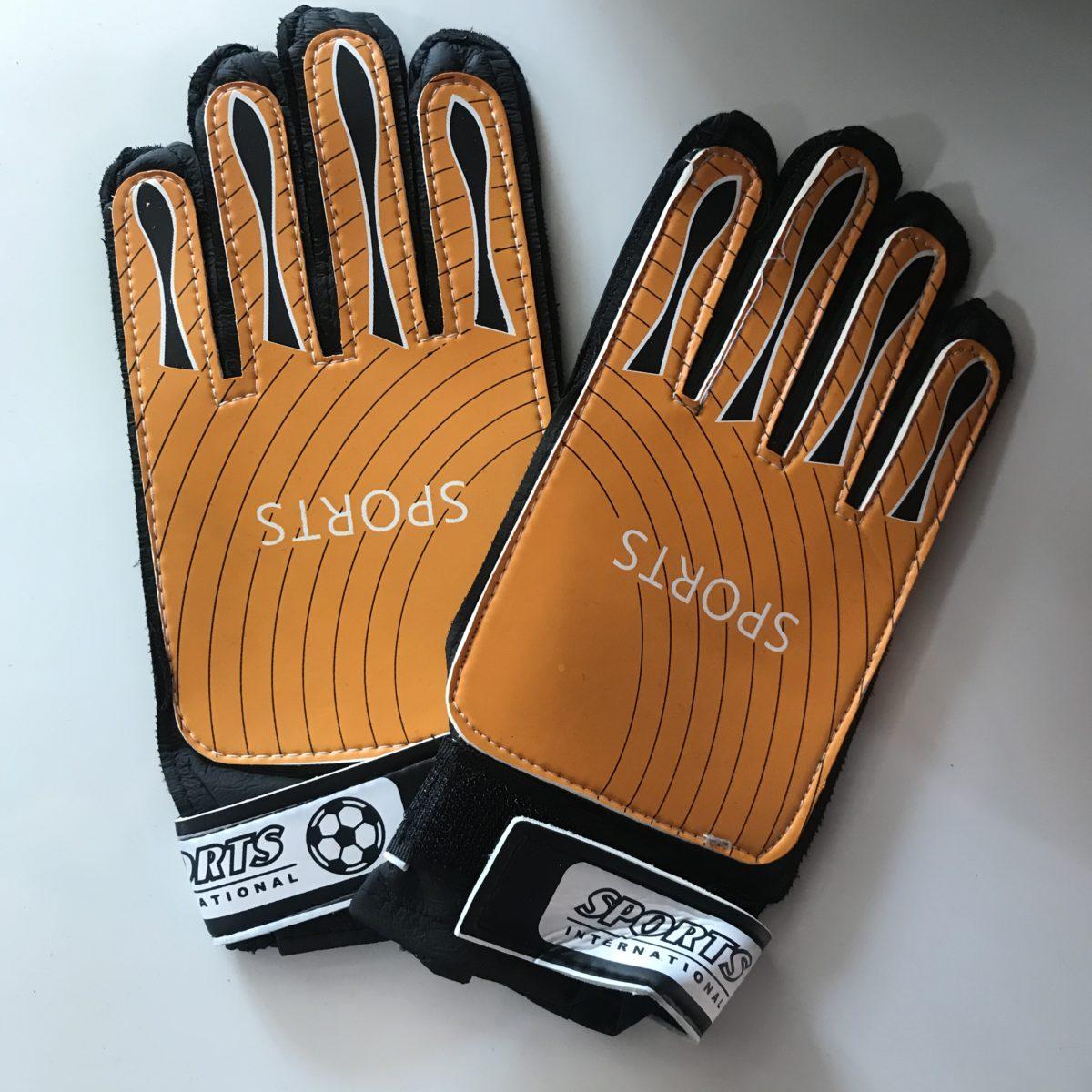 SPORTS Перчатки вратарские  003: оранжевый - 1