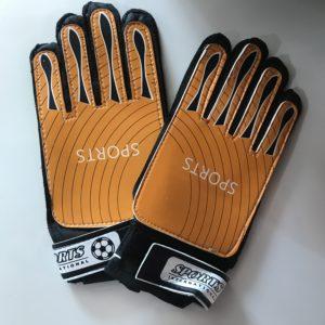 SPORTS Перчатки вратарские  003: оранжевый - 2