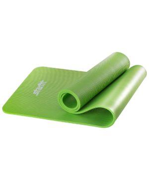 STARFIT Коврик для йоги FM-301 183х58х1,0 см: зелёный - 17
