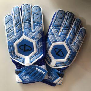 FOOTBALL Перчатки вратарские  001: синий - 8