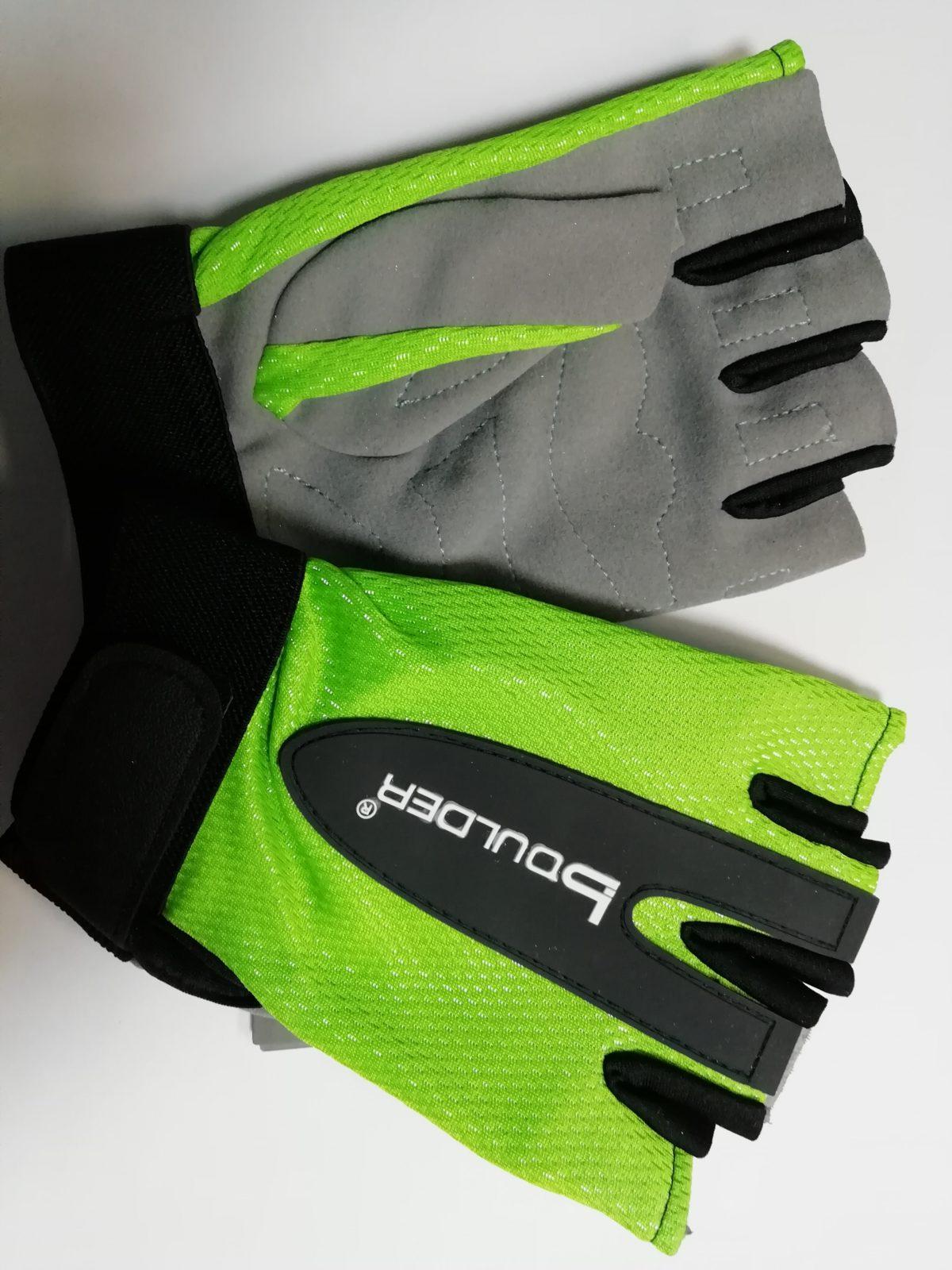 BOULDER Перчатки для фитнеса HW-306: зелёный - 1