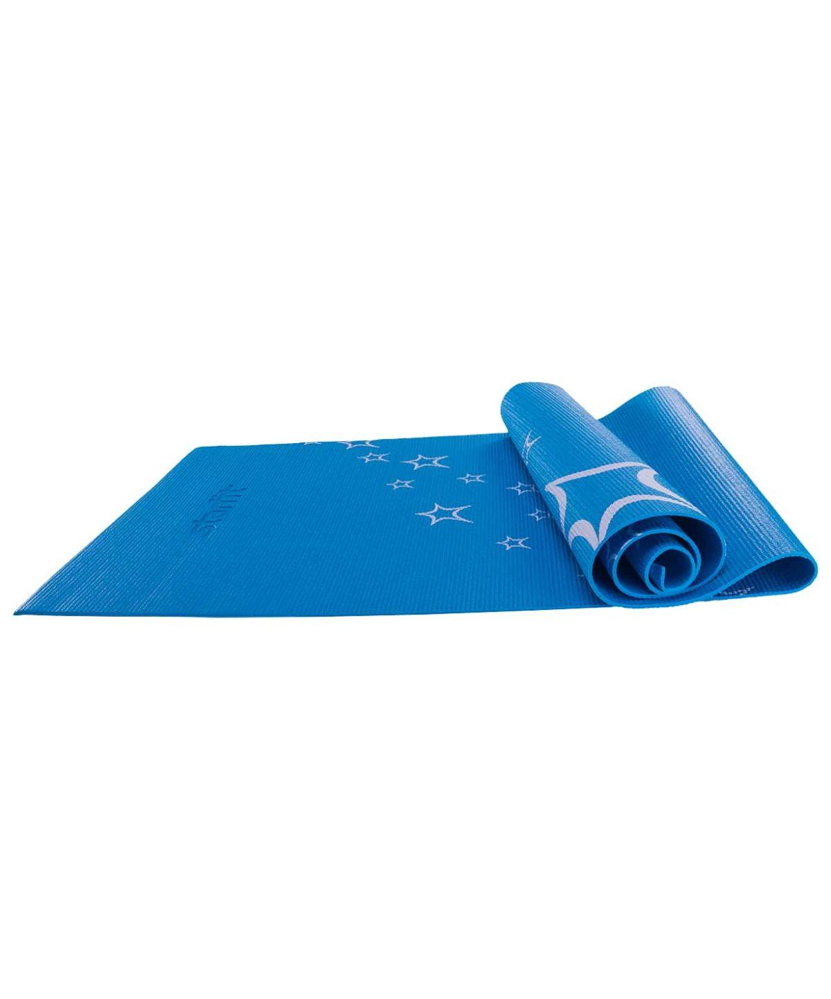 STARFIT Коврик для йоги FM-102 173х61х0,6см: синий - 1