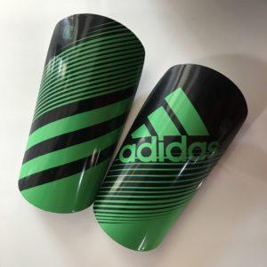 ADIDAS Щитки  Щ002: чёрный/зелёный - 5