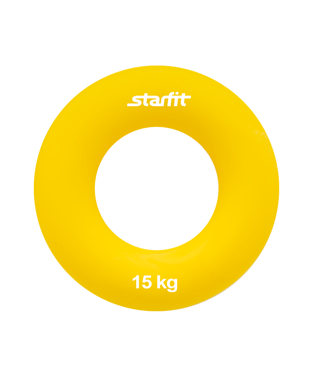 """STARFIT Эспандер кистевой """"Кольцо"""" 7 см. 15 кг. желтый ES-403 - 1"""